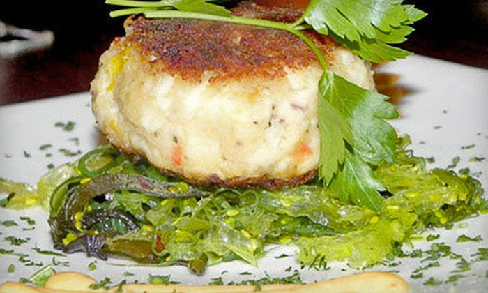 McLoone's Restaurants - Multiple Locations: Bistro Cuisine and Drinks for Two or Four at McLoone's Woodbridge Grill or McLoone's Bayonne Grille (Up to 55% Off)