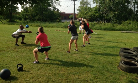 Up to 83% Off Boot Camp Classes at Obstacle Course Training