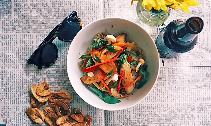 Brightwok Kitchen - The Loop: $12 for Two Build Your Own Bowl at Brightwok Kitchen ($20Value)