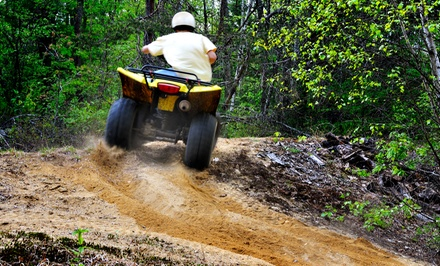 One- or Two-Hour Fall ATV Tour and Pick-a-Pumpkin, or Guided Snowmobile Tour from Out Back Kayak (Up to 51% Off)