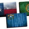 "24""x36"" Distressed-Flag Canvas Prints"