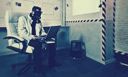"""60 Min. Live Escape Game """"Laboratorium"""" für 2-5 Personen inkl. einer Flasche Sekt bei LockRoom (37% sparen*)"""