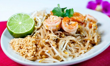 Thai Food for Two or Four at Thai Topaz (Up to 40% Off)
