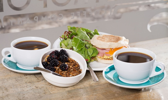 Metropolis Coffee Company - Edgewater: Breakfast for Two or Three Groupons, Each Good for $5 Worth of Coffee and Café Items at Metropolis Coffee Company