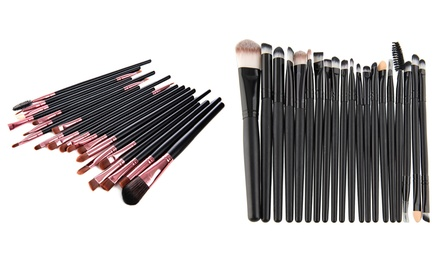 Bliss & Grace Professional Makeup Brush Set (20-Piece)