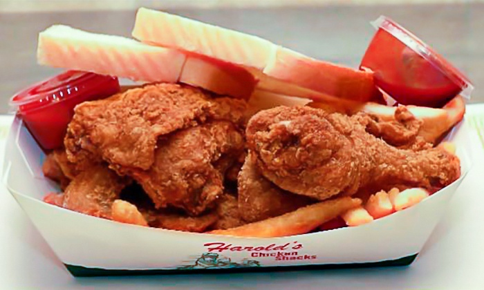 Harold's Chicken - Homewood: Fried Chicken and Seafood at Harold's Chicken of Homewood (Up to 47%Off). Two Options Available.