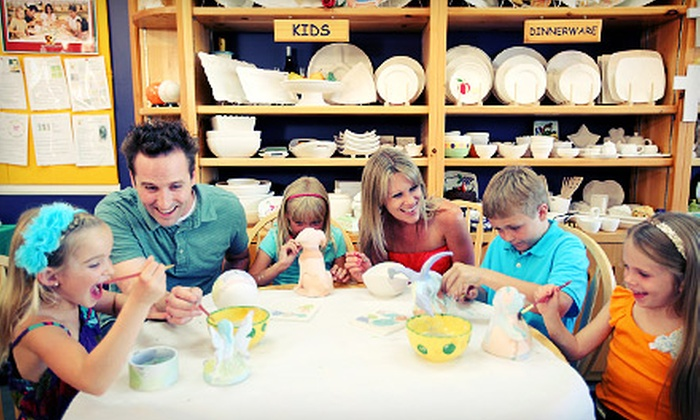 Color Me Mine - Victoria: $15 for $30 Worth of Paint-Your-Own Ceramics at Color Me Mine