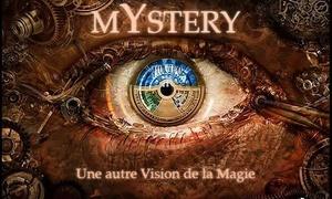 Eric Le Goué  La Chambre Ô Secrets: Spectacle de Magie « MYSTERY » avec entracte gourmand pour 2 à 29.90 € avec Eric Le Goué à la Chambre Ô Secrets