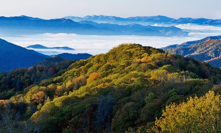 groupon daily deal - Stay at Wyndham Smoky Mountains in Sevierville, TN. Dates into August.