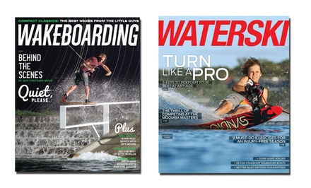 1-Year Subscription to Wakeboarding or Waterski Magazine from $5–$5.99