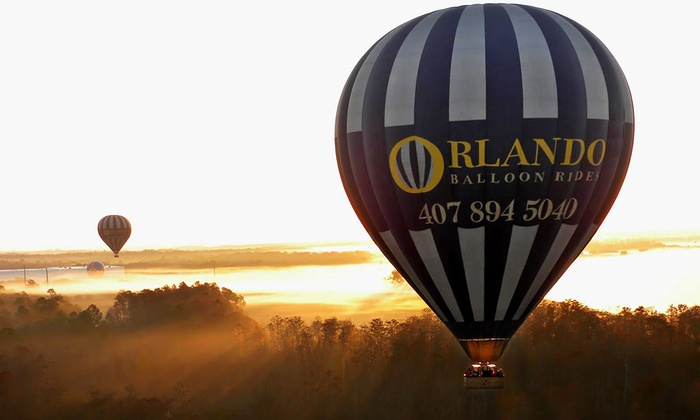 Orlando Balloon Rides - Palm Beach: Hot Air Balloon Ride for One or Two from Orlando Balloon Rides (Up to 27% Off). Four Options Available.