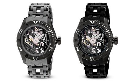 Invicta Men's Sea Spider Mechanical Skeleton Watches