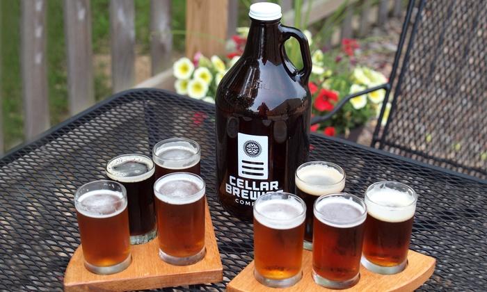 Cellar Brewing Company - Sparta: Craft-Beer Package for Two or Four at Cellar Brewing Company (Up to 53% Off)