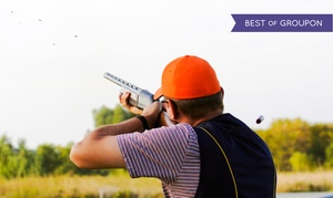 Triple B Clays: $127 for a Clay-Shooting Package with Instruction for Two at Triple B Clays (Up to $314 Value)
