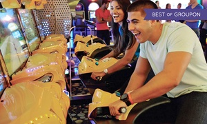 "iPlay America: ""The Jersey Four"" Valentine's Concert and Buffet or Ride Passes and Game Cards at iPlay America (Up to 56% Off)"