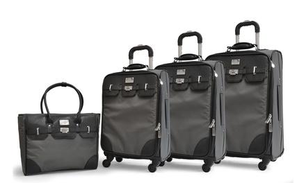 Adrienne Vittadini High Density Luggage Set (4-Piece)