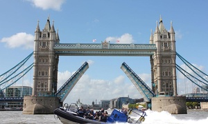 Rib Tours London Ltd: 25- or 50-Minute Thames Sightseeing Boat Tour for One or Two with Rib Tours London (Up to 26% Off)