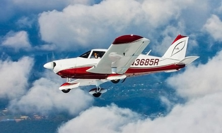 One-Hour Flight Lesson with Video for One, Two, or Three from Positive Rate Gear Up (Up to 76% Off)