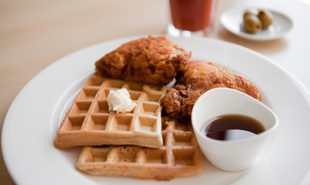 Two or Four Groupons, Each Good for $10 Worth of Café Food at Cafe 125, The Coffee House & Waffles (50% Off)