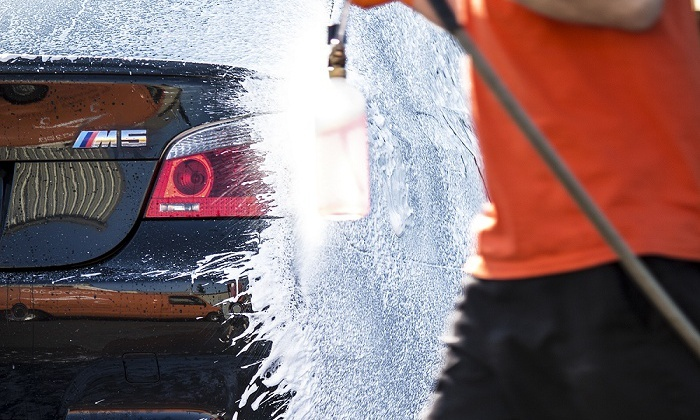 AutoSpa360 - Walnut Grove: One or Three Hand Washes or One Hand Wash and Wax with Water-Spot Removal at AutoSpa360 (Up to 71% Off)