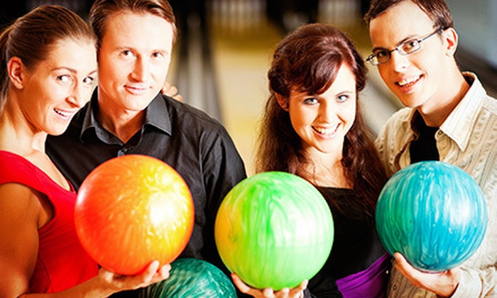 Circle Bowling Lanes - Broadmoor/Sherwood: Bowling for Up to Two, Four, or Eight with Shoes, Pizza, and Soda at Circle Bowling Lanes (Up to 60% Off)