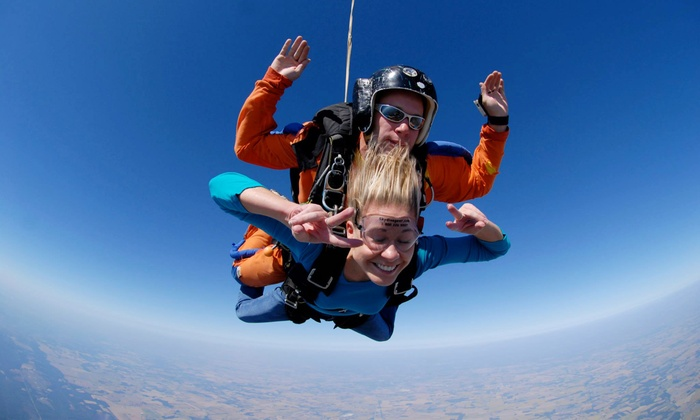 Adventure Skydive Tennessee - Waverly: One or Two Tandem Skydiving Jumps at Adventure Skydive Tennessee (47% Off)