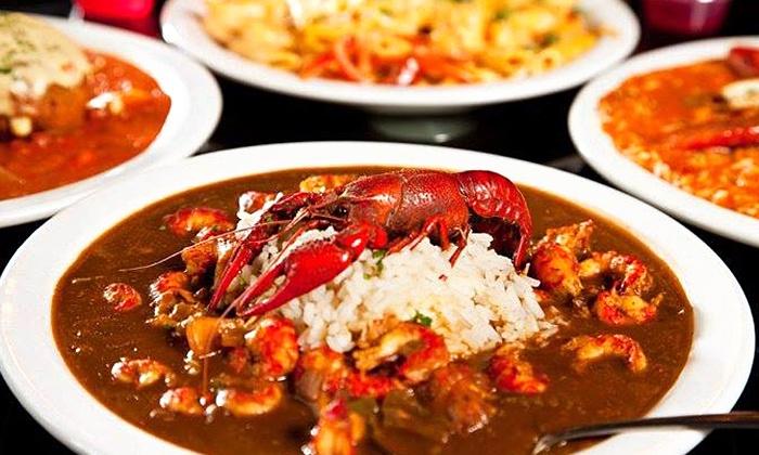 Bayou Jack's Cajun Grill - Sulphur Springs: $20 for $40 worth of Cajun and Creole Food at Bayou Jack's Cajun Grill