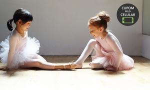 Premiere Estúdio de Dança: Premiere Estúdio de Dança – Anhangabaú: 1, 2 ou 3 meses de balé ou jazz infantil