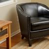Carlton Bonded Leather Club Chair