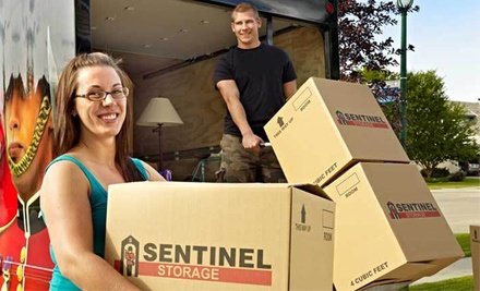 $25 for $50 Worth of Packing Supplies from Sentinel Self-Storage