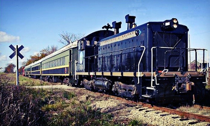 The Coopersville & Marne Railway Company - Coopersville: Scenic Train Ride for Two, Four, or Six from The Coopersville & Marne Railway Company (Up to 57% Off)