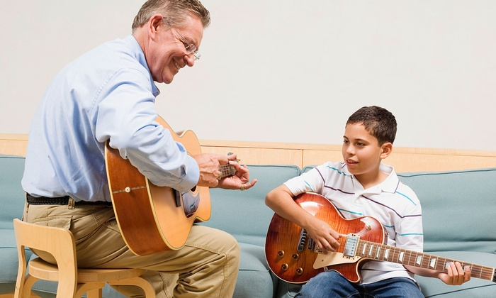 Pauly's Productions - Pauly's Productions: $29 for Four 30-Minute Guitar Lessons at Pauly's Productions ($65 Value)