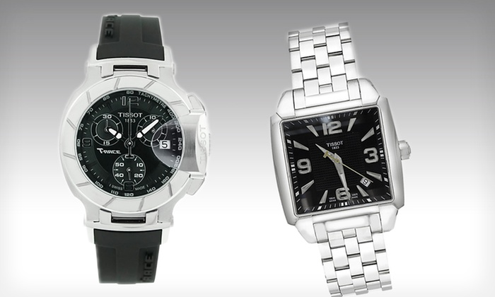 Tissot Men's Watches: Tissot Men's Watch (Up to 54% Off). 4 Designs Available. Free Shipping.