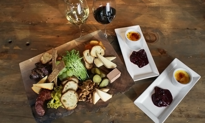 The Workshop By Latitude - Roncesvalles Village: C$40 for the Ultimate Cheese and Wine Experience for Two at The Workshop by Latitude (C$70 Value)