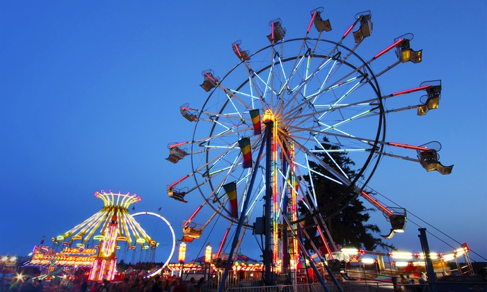 California State Fair - Sacramento: California State Fair Package with Monorail Rides and Savings Books for 2, 4, 6, 8, or 16 (Up to 40% Off)