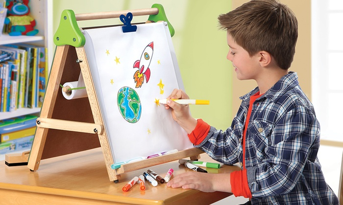 discovery kids 3in1 tabletop easel discovery kids 3in - Table Top Easel