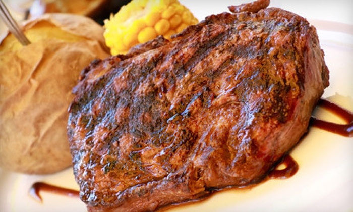 JoDean's Steakhouse and Lounge - Yankton: Steak and Seafood at JoDean's Steakhouse and Lounge (Half Off). Two Options Available.