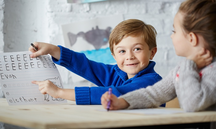 Genius Kids Newark Cedar - Newark: $359 for Four Weeks of Preschool Childcare from Genius Kids Newark Cedar ($719 Value)