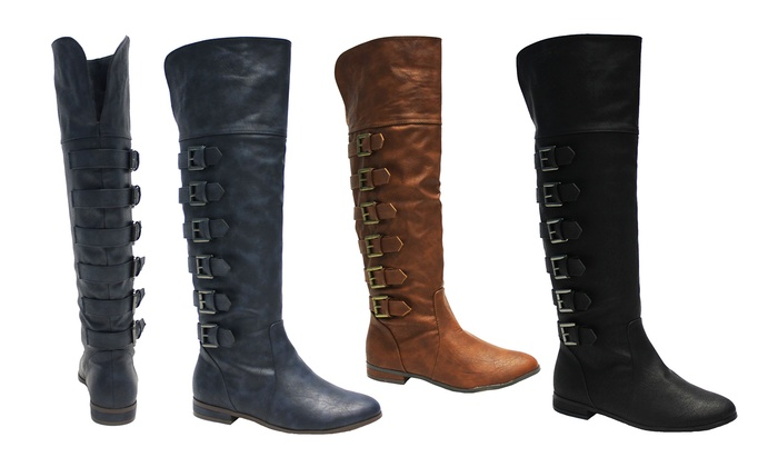 Michael Antonio Burnett Over-the-Knee Boots: Michael Antonio Burnett Over-the-Knee Boots