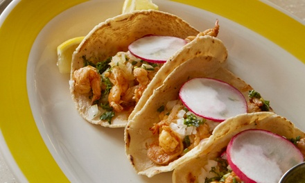 Mexican Food at Citrico (50% Off). Three Options Available.