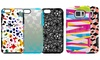 M-Edge Glimpse Case for iPhone 6/6s, 6 Plus/6s Plus, or Galaxy S6: M-Edge Glimpse Case with Patterned Print for Apple iPhone 6/6s, 6 Plus/6s Plus, or Samsung Galaxy S6