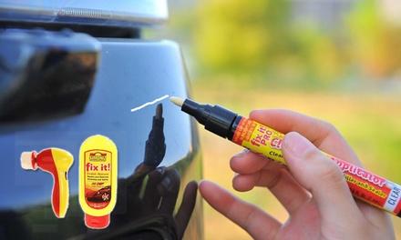 Car Scratch Repair Polishing Kit: Three Pens $9 or Polishing Kit with Three Pens $19