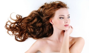 Temple Hair and Beauty: $39 Hair Styling Package, $69 with Tint, or $89 with Full-Head of Foils at Temple Hair and Beauty (Up to $220 Value)
