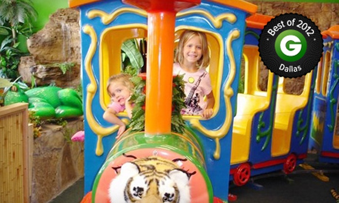 Indoor Safari Park - Plano: $5 for Kids' Safari Outing with Rides and Access to Play Areas at Indoor Safari Park ($9.99 Value)