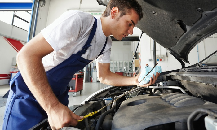 Newton's Automotive - Aiken: $79.99 for a Full Synthetic Oil Service for a Foreign Vehicle at Newton's Automotive (Up to $175 Value)