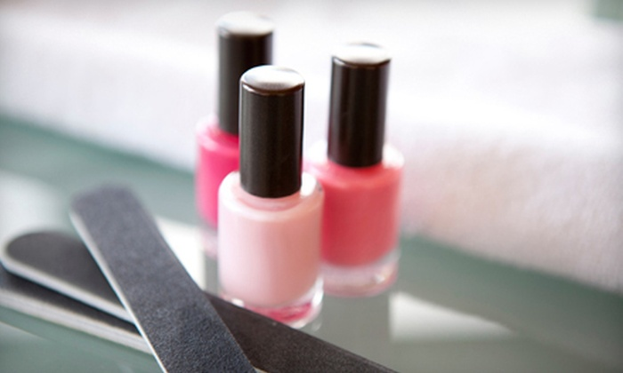 Indulge - Mercer Island: One or Two Shellac Manicures with Indulge Pedicures at Indulge (51% Off)