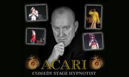 Acari Comedy Hypnotist Show at Whitehall Theatre, 29 October (Up to 50% Off)