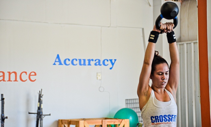 CrossFit Surmount - White Oak: One Month of Unlimited CrossFit Classes from CrossFit Surmount (70% Off)