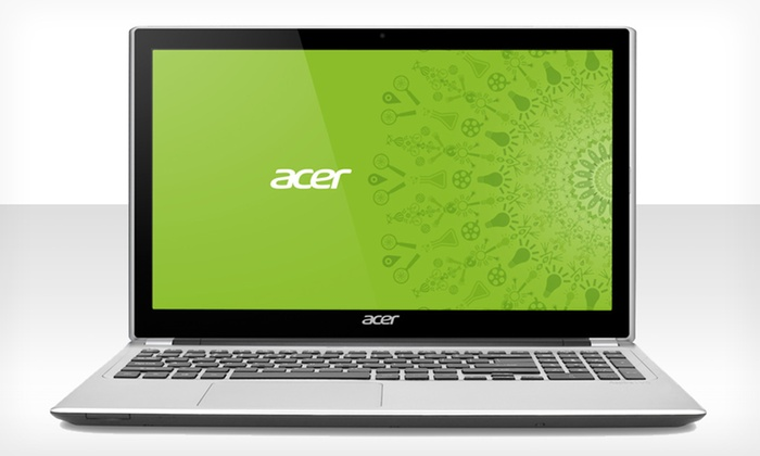 """Acer Aspire 15.6"""" Touchscreen Laptop: $449.99 for Acer Aspire 15.6"""" Touchscreen Laptop (Manufacturer Refurbished) ($698 List Price). Free Shipping and Returns"""