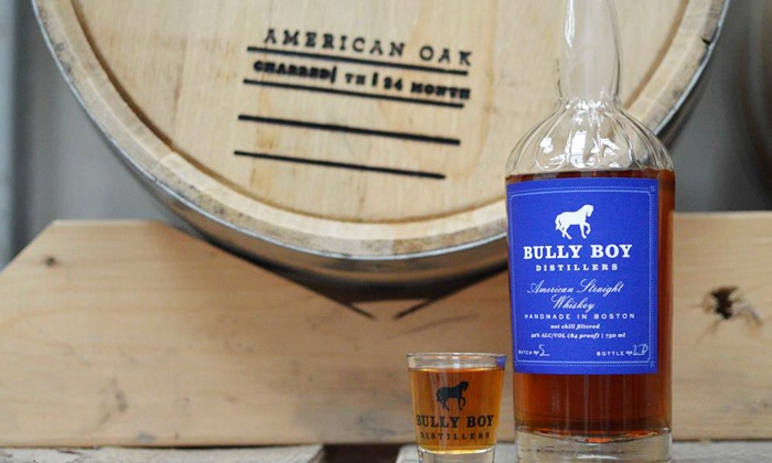 Bully Boy Distillery - Dudley - Brunswick King: Distillery Tour for Two or Four of Bully Boy Distillers (Up to 54% Off)